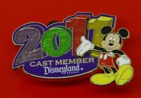 Disney Enamel Pin Badge Cast Member Exclusive 2011 Mickey Mouse Disneyland
