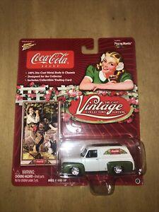 Johnny Lightning Coca-Cola Vintage 1955 Ford Panel Van
