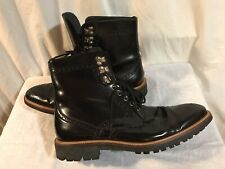 D&G DOLCE & GABBANA Men Shoes  Boots Size 42 Made in Italy