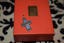 MINT RETIRED James Avery CROSS CUTOUT Charm, Crosslet pendant Sterling Silver