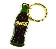Coca-Cola USA Catena chiave Key Chain Coca Cola Bottiglia verde color oro
