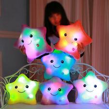 Luminous Pillow Plush Kids Room Decoration Baby Nursery Decor Pillows Lightnings