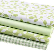 4pcs Tissu en Coton à la Couture Tissus pour Bébés Housse d'oreiller