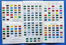 Modellismo - Tabella colori Astromodel - Lifecolor colori acrilici
