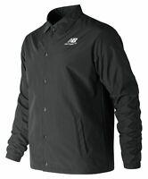 New Balance Men's Classic Coaches Stacked Jacket Black