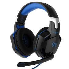 Gaming Kopfhörer mit Mikrofon 3.5mm Over Ear 3D Stereo Surround Sound Ohrhörer