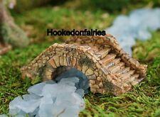 Miniature Cobblestone Bridge TO 4506 Dollhouse Fairy Garden