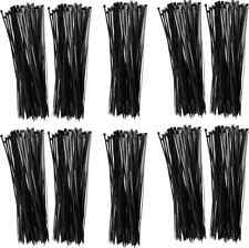 """Nylon Cable Ties, Fifteen Inches (15.2""""), 50lb, Black (Pack of 1000), Sp100855"""