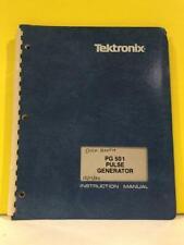 Tektronix 070-1361-01 PG 501 Pulse Generator Instruction Manual