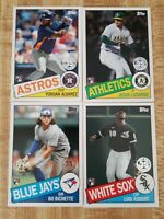 2020 Topps Update 1985 35th Anniversary Insert Set-50 cards TROUT GRIFFEY ROBERT