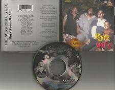 SUGARHILL GANG Boyz From Da Hill / here we Go 5TRX MIXS & INSTRUMENTAL CD single