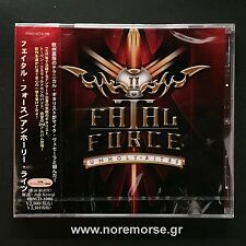 FATAL FORCE - UNHOLY RITES +1, Japan CD +OBI 2012 RBNCD-1086 LOUDNESS NEW SEALED
