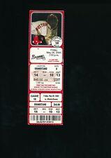 May 20 2005 Atlanta Braves @ Boston Red Sox Ticket