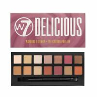 W7 Delicious Natural & Berry Tone 14 Colour Eyeshadow Palette