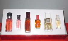 Vintage Liz Claiborne American Gallery Perfume Miniatures Gift Set Lot OF 6