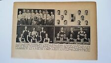 British Columbia Winnipeg Kelowna Kamloops Revelstoke 1927 Basketball Team