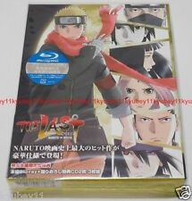 THE LAST NARUTO THE MOVIE Limited Edition Blu-ray 2 CD Booklet Japan ANZX-11371
