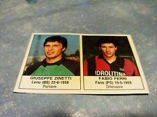 Figurina Calciatori Edis 1984/85 n°239 ZINETTI-FERRI BOLOGNA Campionato Serie B