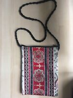 Vintage Boho Hippy Bag Hand Made with Zip And Brand New. 25cm X 18cm