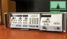 HP AGILENT KEYSIGHT 8350B SWEEP OSCILLATOR MAINFRAME + HP AGILENT 83545A PLUG-IN