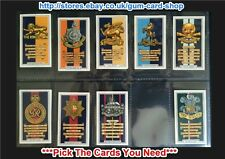 ☆ Gallaher - Army Badges 1939 (G) ***Pick The Cards You Need***