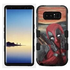 for [Samsung Galaxy Note 8] Rugged Hard+Rubber Hybrid N8 Case Deadpool #Scream