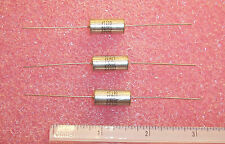 QTY (5) 330uf 6V 10% AXIAL TANTALUM CAPACITORS T110D337K006AS KEMET