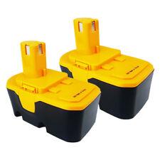 2X 18V 1.5A Ni-MH Battery for Ryobi CS1800 HD1800M R10631 R10632 HP1802M SPC18