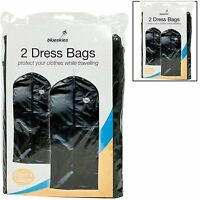 2/1 PACK SUIT BAG DRESS CLOTHES TRAVEL PROTECTOR CARRIER GARMENT BAGS STORAGE