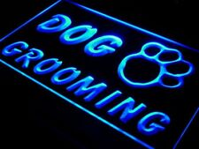 i597-b Dog Grooming Pet Shop Display NR Neon Light Sign
