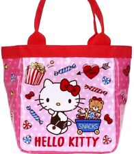 Hello Kitty Cooler Tote Bag Lunch Box Bento Case Insulated Thermal Pouch Handbag