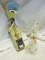 Vintage Beige Electric Portable Lamp Adjustable E58113