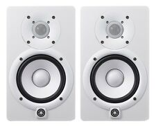 Yamaha HS7W Powered Studio Monitor White (Pair) **BRAND NEW**