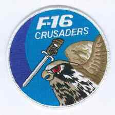 F-16 FIGHTING FALCON SWIRL PATCH 523RD FS CRUSADERS F16