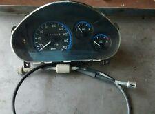 Cruscotto quadro strumenti e cavo contachilometri Daewoo Matiz 1° serie 96380538