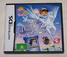 Dora Saves The Snow Princess Nintendo DS Video Game New