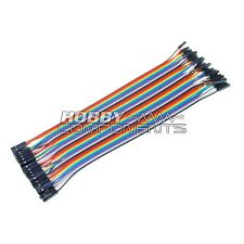 Arduino FEMALE TO FEMALE Solderless dupont Jumper Breadboard Wires 40-Cable Pack