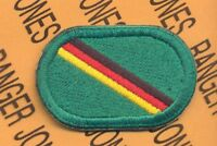 10th Special Forces Group Airborne Det Europe oval patch B-2