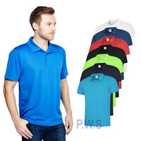 Uneek Mens Ultra Cool Polo Shirt 140gsm 100% Polyester Breathable Fabric (UC125)