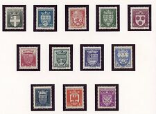 STAMP / TIMBRE FRANCE NEUF SERIE N° 553/564 ** COTE 60 € BLASON