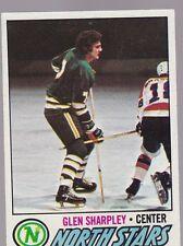 1977-78 TOPPS HOCKEY GLEN SHARPLEY #158 NORTH STARS NMMT *54684