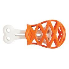 JW Treat Dispenser Rubber Nylon Chew Play Dog Toy Holee Gourmet Turkey Leg Small