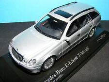 Mercedes Benz E Class Est in Silver 1 of 1056 pcs  2003 1:43RD. MINICHAMP Model