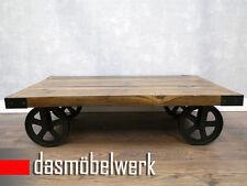 Massivholz Tische Couchtisch Holz Industrial Design Shabby Chick Loft AF2043 WOW
