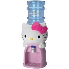 Hello Kitty Mini Water Beverage Dispenser 8 GLASSES Water Iced Tea Lemonade