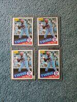Kirby Puckett Baseball Card Mixed Lot approx 273 cards
