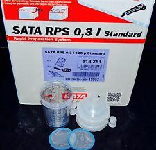 Sata Jet HVLP RP Spray Paint Gun RPS Cups 0,3liter 8oz 2cups