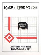 Rear End Cover Back Slide Plate most models of GLOCK Bible ver John 3:16