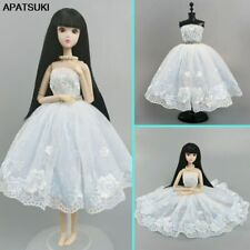 """White Ballet Dress For 11.5"""" Doll Outfits 1/6 Dolls Accessories Clothes Kids Toy"""
