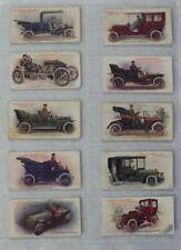 "Lambert & Butler - ""Motors"" 1908 - Original Full Set x25 Cards - Good Condition"